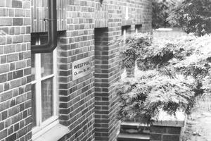 """<span class=""""bildunterschrift_hervorgehoben"""">5</span>Basement rooms of Westpol GmbH at Spiekerstrasse 14, Neubeckum, in 1946<br />"""