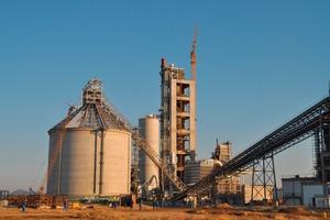 Werk von Ohorongo Cement am 15.07.2010<br />