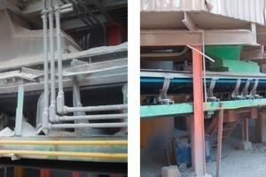 Cemex Mexiko vor undnach dem Einbau von 27m Liftube<br />