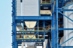"""<div class=""""bildtext_en"""">2 Gas conditioning tower and SCR</div>"""
