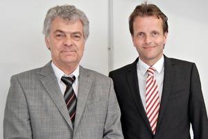 """<div class=""""bildtext_en"""">Dr.-Ing. Heribert Motz (left) and Thomas Reiche</div>"""