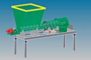 Aufbau der Rohrwaage WeighTUBE<sup>®</sup> RWS