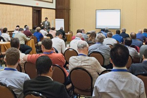 """<div class=""""bildtext_en"""">The technical conference offered, for the first time, a 10-module series of training called """"Process Training"""" that focused on the cement manufacturing process</div>"""