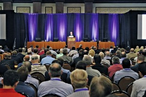 """<div class=""""bildtext_en"""">The conference was truly international with representatives from 28 countries</div>"""