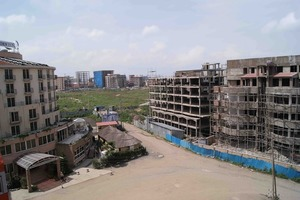 "<span class=""bildunterschrift_hervorgehoben"">2</span>	Building activity in Addis (photo Harder)<br />"