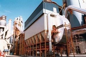 Filter für Ofen-/Wärmetauscherentstaubung bei Cimpor (AAF International)<br />