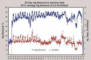 Ergebnisse der langfristigen Hg-Entfernung<br />