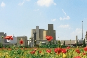 Höver cement plant in Germany<br />