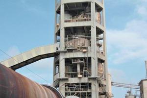 "<div class=""bildtext_en"">7 Preheater tower in Europe prior to repair</div>"