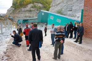 "<span class=""bildunterschrift_hervorgehoben"">3</span>	Scientific field trip: gypsum production near the banks of the Volga <br />"