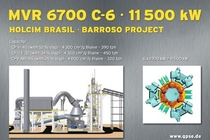 7 Mill design for the Barroso project