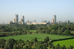 Bhatapara cement factory of Ambuja Cement (ACL)<br />