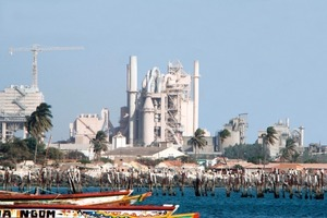 """<span class=""""bildunterschrift_hervorgehoben"""">5</span>Sococim cement factory Rufisque in Senegal (Vicat)<br />"""