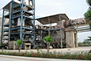 Argos-Zementwerk in Kolumbien<br />