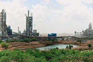 Zementwerk Ras von Shree Cement