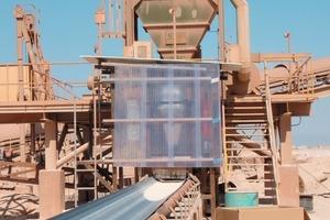 Erstes NIR-Analysegerät im Zementwerk Raysut in Oman<br />