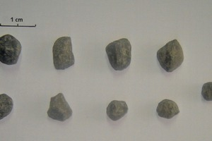 """<div class=""""bildtext_en"""">16 Accumulated clinker particles at the 4.1 meter of compartment-2 length (sampling campaign-2)</div>"""