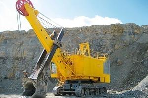 Shovel Excavator after refurbishment<br />