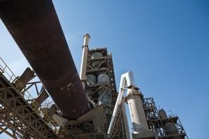 Modern cement line<br />