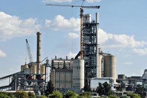 Zementwerk Lichtenburg (Südafrika) von Lafarge<br />