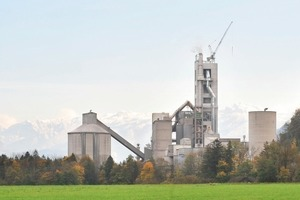 "<span class=""bildunterschrift_hervorgehoben"">1</span>Centrepiece of the modernized cement production plant <br />"