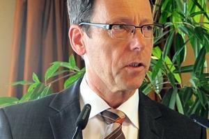 Ansprache durch den BVK-Vorsitzenden Dr.Thomas Stumpf, Mitglied der Geschäftsführung der Fels-WerkeGmbH Goslar