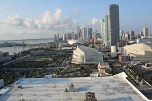 Vom Dachpool des Miami Downtown Hilton bot sich ein atemberaubender Blick<br />
