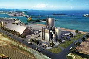 Visualisierung der geplanten Anlage in Port Kembla mit MVR6000C-6<br />