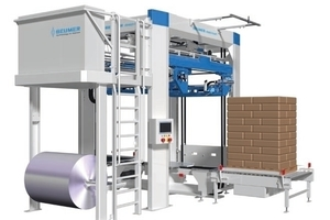 The new BEUMER stretch hood<sup>®</sup> i provides a sustainable packaging process