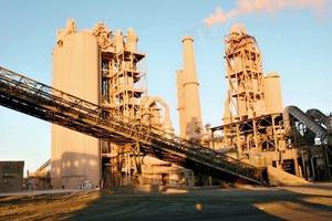 Suez Cement plant • Werk Suez Cement
