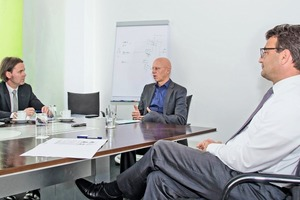 "<div class=""bildtext_en"">Georg Kube (middle) and Thomas Rinn (right) at the interview</div>"
