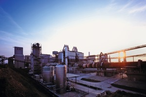 Modern cement production at the Karsdorf plant<br />