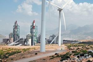 Tetouan cement plant in Morocco
