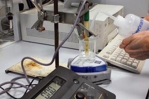 Bestimmung der Lösungskinetik im Labormaßstab
