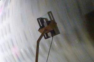 Sensoren (akustische Ohren) erfassten den Füllgrad der Mühle.<br />