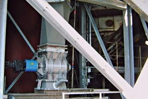 "<div class=""bildtext_en"">4 View of the triple slide gate system and rotary valve</div>"