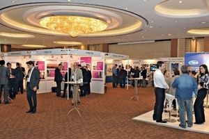 Almost 70 companies exhibited