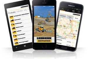 """<div class=""""bildtext_en"""">1 New mobile app from Liebherr Rental Services for hiring construction machines using a smartphone or tablet</div>"""