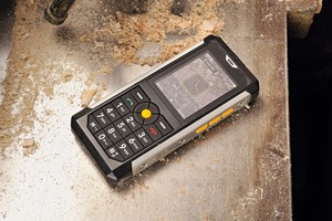 "<div class=""bildtext_en"">1 Dusty working conditions: No problem for the Cat S50</div>"