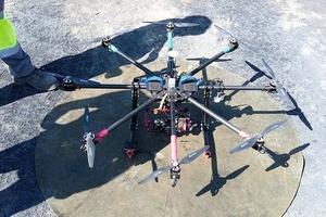 """<div class=""""bildtext_en"""">Two Spanish cement plants started using drones to confirm the inventory of bulk materials stored outdoors</div>"""