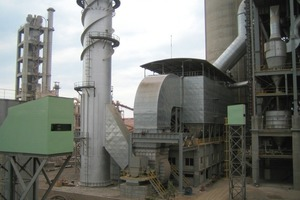 EMC-Filteranlage bei Gulf Cement Company in Ras al Khaimah/VAE (Foto Scheuch)<br />