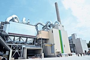 Zementwerk Rohrdorf mit neuer SCR-Anlage und Abwärmerückgewinnung