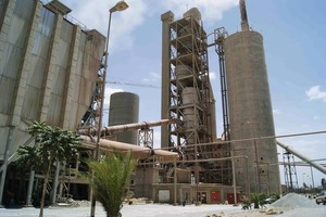 "<span class=""bildunterschrift_hervorgehoben"">9</span>	2000 t/d kiln line owned by Messebo Cement (photo Harder)<br />"