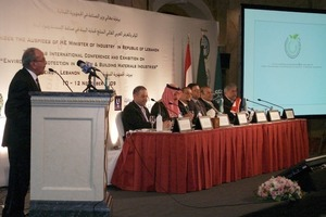 2Opening of the conference (left: Ahmad Al-Rousan)
