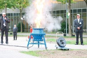 Staubexplosion im Messepark<br />