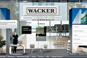 """<div class=""""bildunterschrift_en""""><span class=""""bu_ziffer_blau"""">2</span> Booth of the platinum sponsor Wacker</div>"""