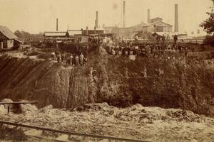 "<span class=""bildunterschrift_hervorgehoben"">2</span>Historical cement plant (1889)<br />"