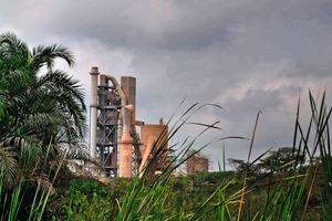 Lafarge's Ewekoro cement factory in Nigeria<br />
