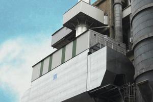 Filter zur Ofen-/Mühlenentstaubung bei Dyckerhoff (Intensiv-Filter)<br />
