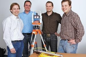 """<span class=""""bildunterschrift_hervorgehoben"""">1</span>Johannes Kutschera, Martin Herkommer, Christian Rammelmeier and Janos Faust (from left)<br />"""